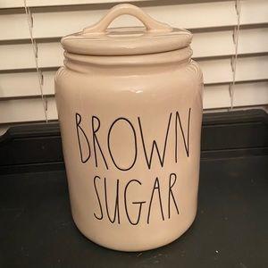 Rae Dunn Brown Sugar Canister